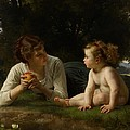 Temptation by William Adolphe Bouguereau
