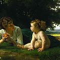 Temptation by William Bouguereau
