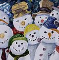 Ten Little Snowmen by Sam Sidders