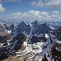 T-703502-ten Peaks From Summit Of Mt. Lefroy by Ed  Cooper Photography