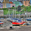 Tenby Harbour In Summer 4 by Steve Purnell