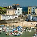Tenby Harbour by Jeremy Voisey