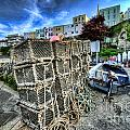 Tenby Lobster Traps by Steve Purnell