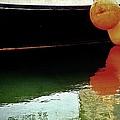 Harbor Boat Scene The Tenders by Marysue Ryan