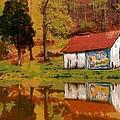 Tennessee Barn by Lynne Jenkins