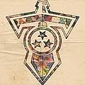Tennessee Titans Logo Art by Florian Rodarte