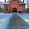 Tenney Memorial Library Newbury Vermont by Nancy Griswold