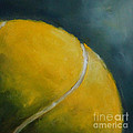 Tennis Ball by Kristine Kainer