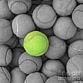 Tennis Balls Background Texture by Phaitoon Sutunyawatcahi