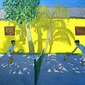 Tennis  Cuba by Andrew Macara