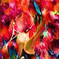 Tennis I by Lourry Legarde
