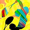 Tennis Shadow by Dalon Ryan