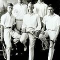 Tennis Team 1921 by Francis  Chapman