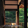 Tenryui-ji - Temple - Kyoto by Jacqueline M Lewis