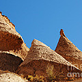Tent Rocks Geology by Vivian Christopher