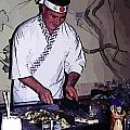 Teppanyaki Cooking  by John Malone