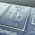 Terbium Chemical Element by Science Picture Co