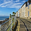 Terraced Cottages At Mousehole by Susie Peek