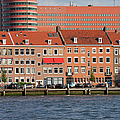 Terraced Houses In Rotterdam City Centre by Artur Bogacki
