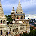 Terraces And Towers Of Fishermans Bastion by Laurel Talabere