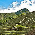 Terraces Of Machu Picchu-peru by Ruth Hager