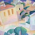 Terrino, Mallorca, 1914 by Leo Gestel