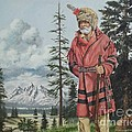 Terry The Mountain Man by Wanda Dansereau