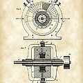 Tesla Alternating Electric Current Generator Patent 1891 - Vintage by Stephen Younts