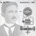 Tesla And The Electro Magnetic Motor Patent by Daniel Hagerman
