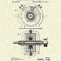 Tesla Generator 1891 Patent Art by Prior Art Design