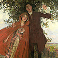 Tess Of The D'urbervilles Or The Elopement by William Hatherell