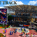 Test Track Opening 1999 by David Lee Thompson