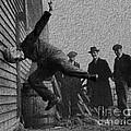 Testing Football Helmets In 1912 Ouchhhhh by R Muirhead Art