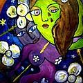 Tete Dans La Lune by Dinah Hascoet