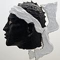 Tete De Maure - Papier Mache by Christian V Stanescu