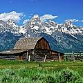 Teton Barn by Greg Norrell