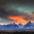Teton Explosion by Mark Kiver