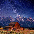 Teton Nights by Darren  White