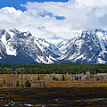 Teton Panorama I Right Panel by Greg Norrell