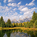 Teton Reflections by Alex Cassels