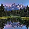 Teton Reflections by Ryan Smith