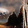 Teton Storm by Barbara D Richards