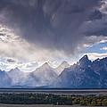 Teton Storm by Mark Kiver