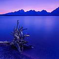 Teton Summer Sunset by Jerry Patterson