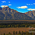 Tetons Mountians by Robert Bales
