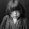 Tewa Indian Child Circa 1905 by Aged Pixel