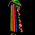 Tex Mex Cantina Neon by Pamela Smale Williams