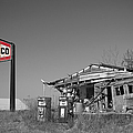 Texaco Country Store With Sign by T Lowry Wilson