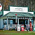 Texaco Gas Station by Alana Ranney
