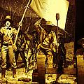 Texans Resisting Santa Ana by Linda Phelps